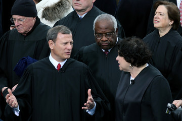 John Roberts ( Sonia Sotomayor Barack Obama Sworn In As U.S. President For A Second Term