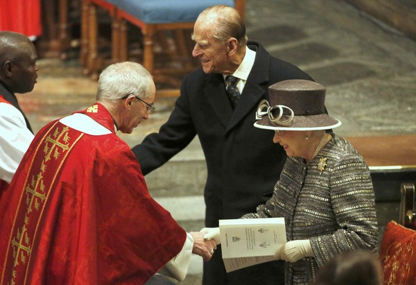 The Queen and Duke of Edinburgh Attend the Inauguration of the Tenth General Synod