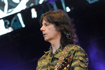 John Squire The Stone Roses Perform in Finsbury Park