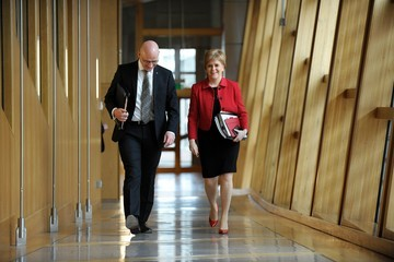 John Swinney 2nd Day of the Scotland's Choice Debate to Hold an Indpendence Referendum