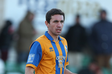 John Thompson Lincoln City v Mansfield Town - FA Cup Second Round