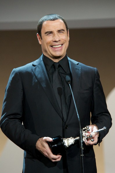 "John Travolta Actor John Travolta receives the ""Donosti"" Lifetime Achievement Award at the Kursaal Palace during the 60th San Sebastian International Film Festival on September 23, 2012 in San Sebastian, Spain."