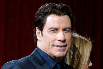 John Travolta Stars Leave the Academy Awards