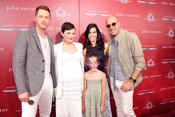 John Varvatos Thea Varvatos John Varvatos 13th Annual Stuart House Benefit Presented by Chrysler With Kids' Tent by Hasbro Studios - Arrivals