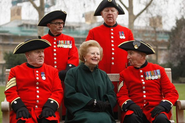 Former UK Prime Minister Margaret Thatcher Turns 85