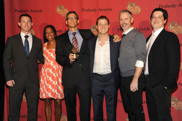 John Wells Shawn Hatosy Arrivals at the George Foster Peabody Awards