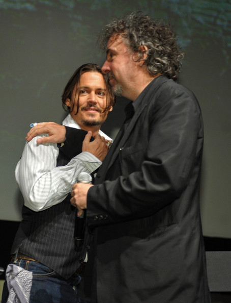 Johnny Depp Tim Burton. Johnny Depp and Tim Burton