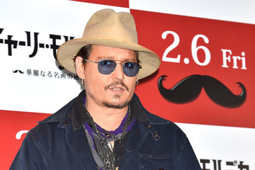 Johnny Depp 'Mortdecai' Photo Call in Tokyo