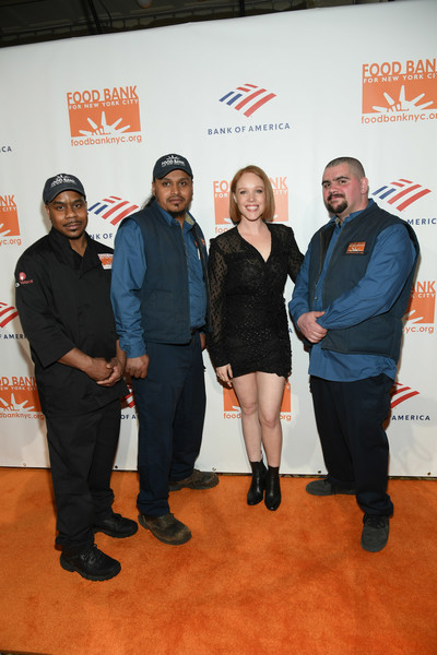 Food Bank For New York City Can-Do Awards Dinner - Arrivals [event,carpet,red carpet,premiere,flooring,food bank for new york city,dinner,l-r,cipriani wall street,new york city,arrivals,waldo marrero,jessica keenan wynn,maurice young,johnny rivera]