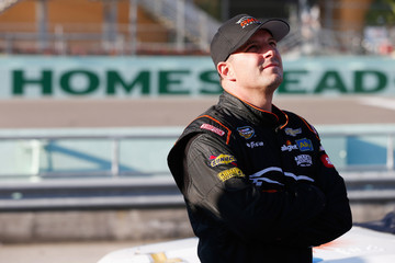 Johnny Sauter Homestead-Miami Speedway - Day 1