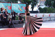 """Sara Sampaio walks the red carpet ahead of the """"Joker"""" screening during the 76th Venice Film Festival at Sala Grande on August 31, 2019 in Venice, Italy."""