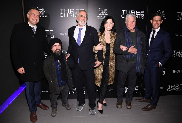 IFC And The Cinema Society Host A Screening Of 'Three Christs' [event,premiere,fashion,suit,formal wear,award,white-collar worker,brand,three christs,richard gere,julianna margulies,eric nazarian,peter dinklage,jon avnet,l-r,ifc,the cinema society host a screening,screening,jon avnet,richard gere,julianna margulies,peter dinklage,eric nazarian,three christs,photograph,stock photography,film director]