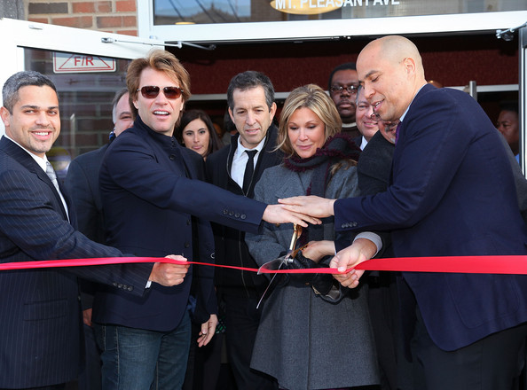 Bon Jovi's JBJ Soul Foundation Opens Affordable Housing In Newark [event,ribbon,suit,team,gesture,white-collar worker,management,smile,business,kenneth cole,anibal ramos jr.,maria cuomo cole,cory booker,jbj soul foundation opens affordable housing,l-r,city of newark,north ward,bon jovi,help usa]