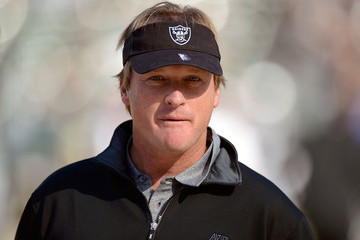 Jon Gruden New Orleans Saints v Oakland Raiders
