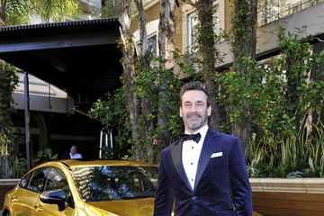 Jon Hamm Mercedes-Benz USA Awards Viewing Party At Four Seasons, Beverly Hills, CA