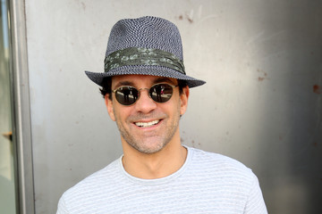 Jon Hamm John Varvatos Sunglasses At The 11th Annual Stuart House Benefit