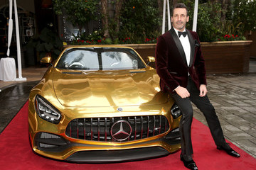 Jon Hamm Mercedes-Benz Academy Awards Viewing Party At The Four Seasons Los Angeles At Beverly Hills