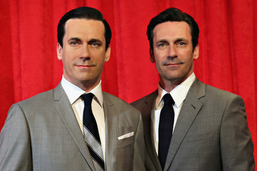 Jon Hamm Jon Hamm Loves His New Wax Figure
