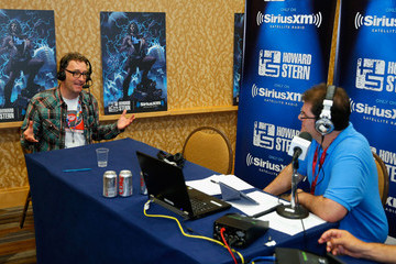 Jon Hein Howard Stern's 'Geektime' Broadcasts Live From Comic-Con 2014
