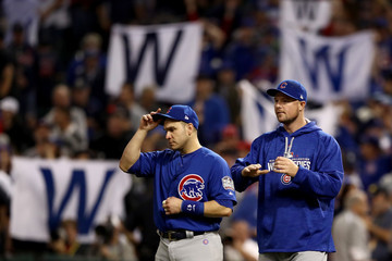 Jon Lester World Series - Chicago Cubs v Cleveland Indians - Game Six