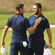 Jon Rahm 2018 Ryder Cup - Morning Fourball Matches