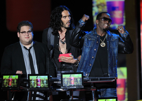Russell Brand and Jonah Hill - 2010 MTV Movie Awards - Show
