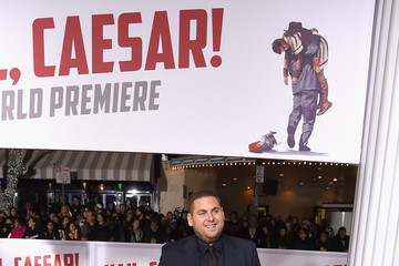 Jonah Hill Premiere of Universal Pictures' 'Hail, Caesar!' - Arrivals