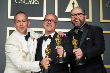 Jonas Rivera Josh Cooley 92nd Annual Academy Awards - Press Room