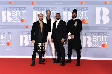 Jonathan Gill Marvin Humes The BRIT Awards 2020 - Red Carpet Arrivals