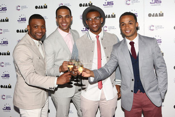 Jonathan Gill Marvin Humes Arrivals at the JLS Foundation Fundraiser