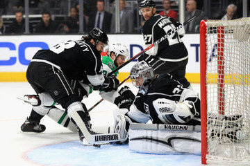 Jonathan Quick Alec Martinez Dallas Stars v Los Angeles Kings