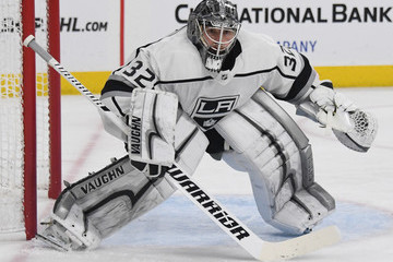 Jonathan Quick Los Angeles Kings v Vegas Golden Knights - Game One