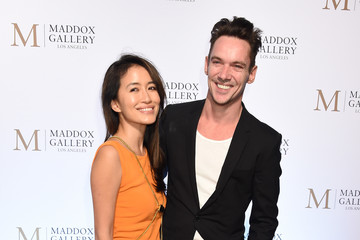 Jonathan Rhys Meyers The VIP Opening Of Maddox Gallery With Inaugural Exhibition 'Best Of British'
