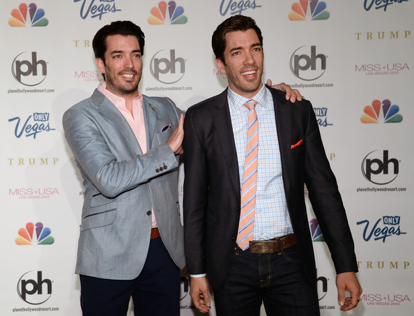 Drew Scott and Jonathan Scott - Arrivals at the Miss USA Pageant