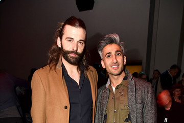 Jonathan Van Ness Vivienne Tam - Front Row - February 2018 - New York Fashion Week: The Shows