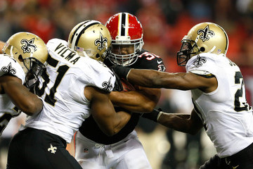Jonathan Vilma New Orleans Saints v Atlanta Falcons
