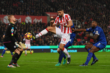 Jonathan Walters Stoke City v Leicester City  - Premier League