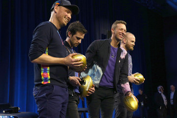 Jonny Buckland Pepsi Super Bowl Halftime Press Conference