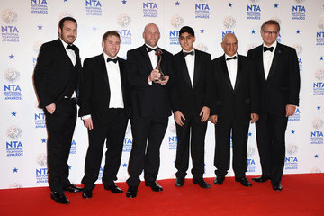 Jonny Mitchell National Television Awards Winners Room
