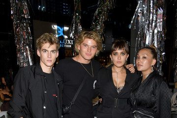 Jordan Barrett Chrome Hearts & Baccarat Celebrate the Miami Design District With Jesse Jo Stark, Mary Anne Huntsman the Miami Symphony Orchestra