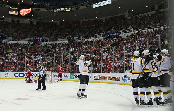Boston Bruins v Detroit Red Wings - Game Three