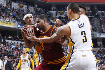 Jordan Hill Cleveland Cavaliers v Indiana Pacers