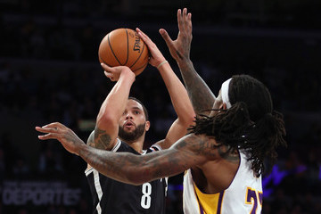 Jordan Hill Brooklyn Nets v Los Angeles Lakers