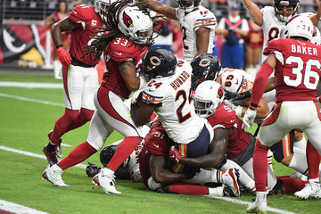 Jordan Howard Chicago Bears vs. Arizona Cardinals