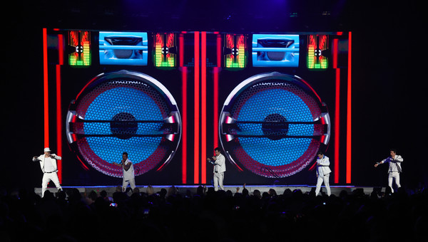 New Kids On The Block In Concert - Las Vegas, NV