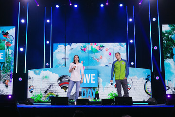 Jordan Morris Celebrities Attend WE Day Seattle to Celebrate the Power Young People Have to Change the World