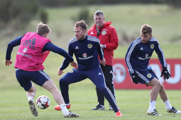 Jordan Rhodes Scotland Training Session