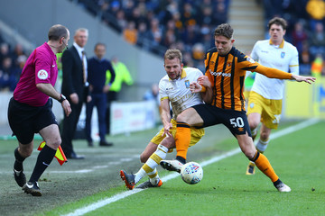 Jordan Rhodes Hull City vs. Sheffield Wednesday - Sky Bet Championship