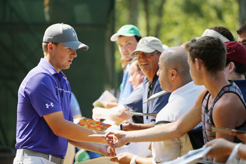 Jordan Spieth The Barclays - Preview Day 3