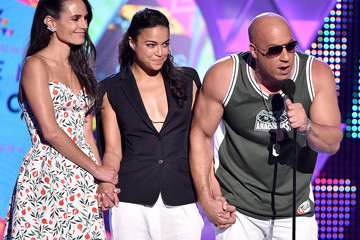 Jordana Brewster Michelle Rodriguez Teen Choice Awards 2015
